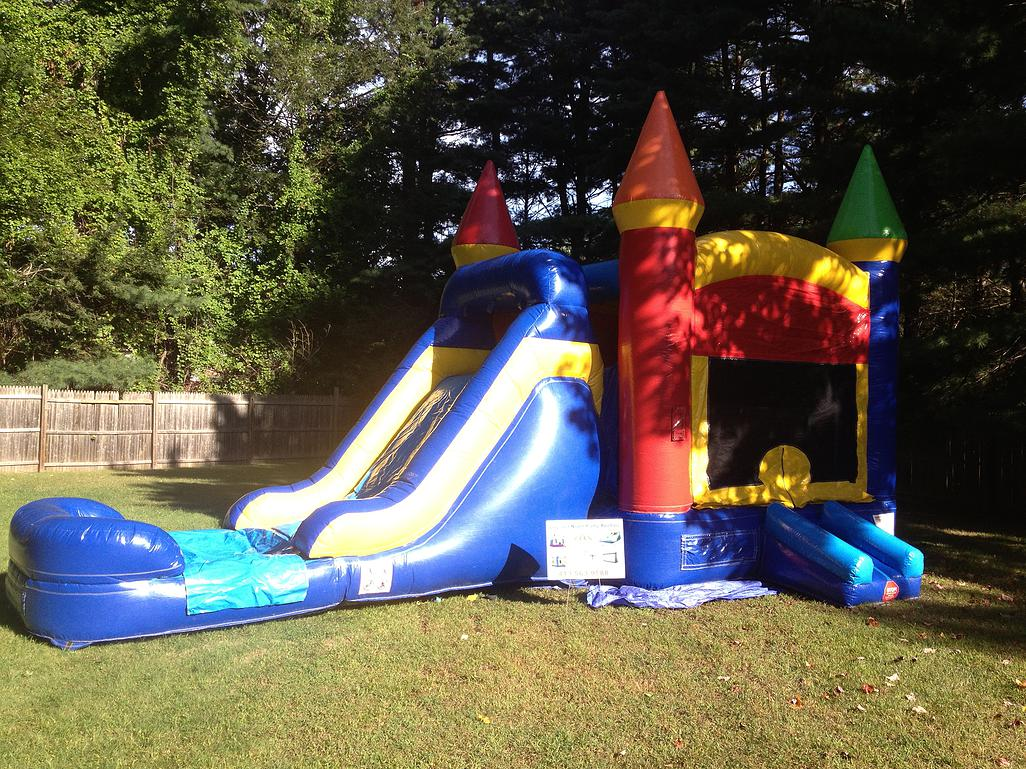 combo bounce house rental