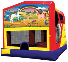 lil ponies combo bounce house rental